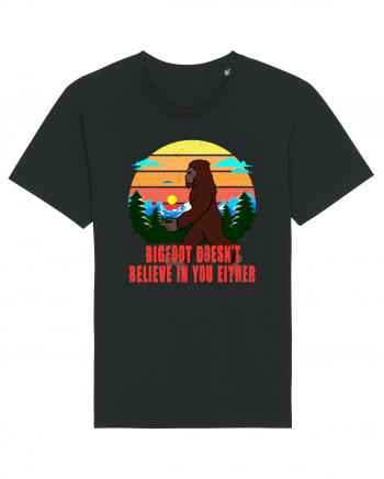 Bigfoot Doesn't Believe In You Either Tricou mânecă scurtă Unisex Rocker