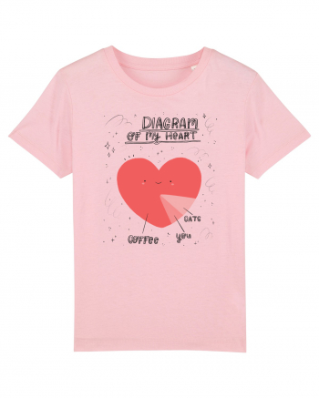 Diagram Of My Heart - dark Tricou mânecă scurtă  Copii Mini Creator
