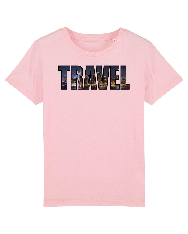 Tricou mânecă scurtă  Copii Mini Creator Cotton Pink
