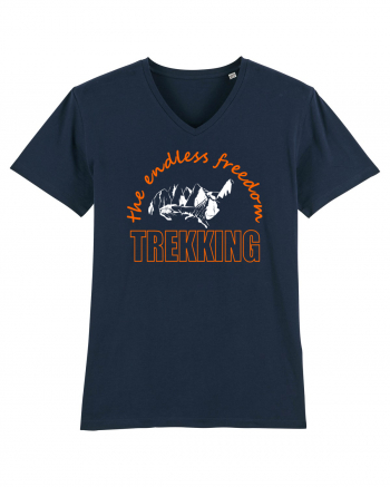 Trekking. The Endless Freedom Tricou mânecă scurtă guler V Bărbat Presenter