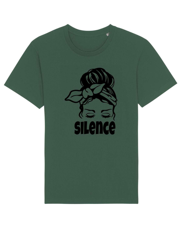 Tricou mânecă scurtă Unisex Rocker Bottle Green