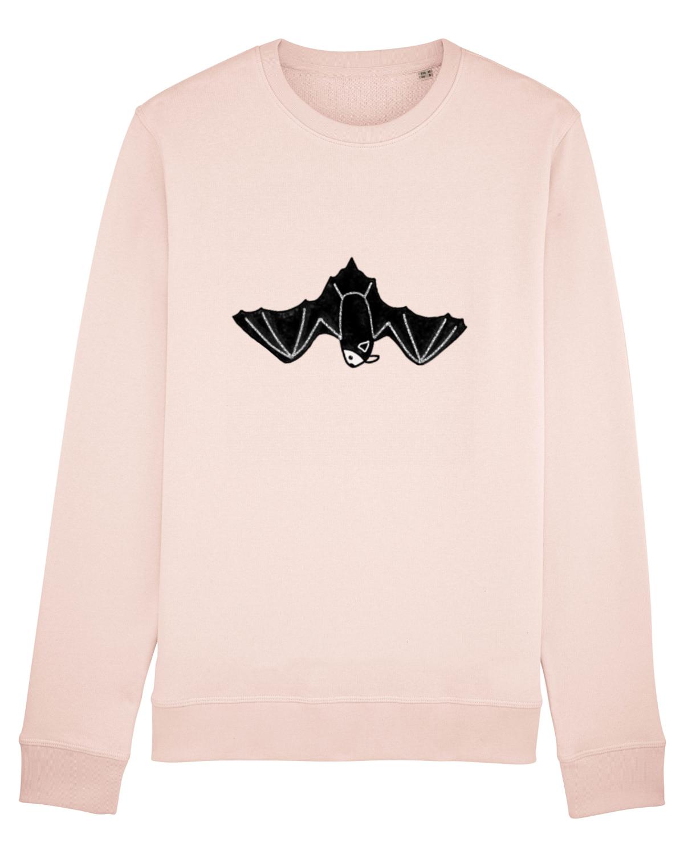 Bluză mânecă lungă Unisex Rise  Candy Pink