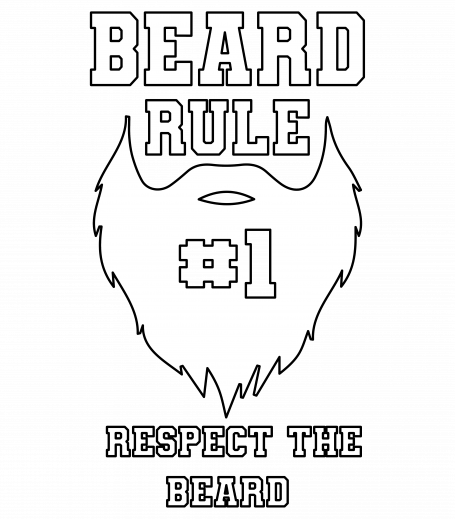 Beard Rule Number One Respect The Beard