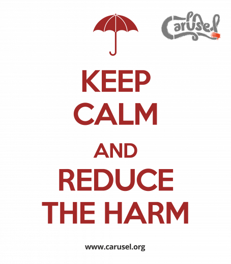 Keep calm and reduce the harm
