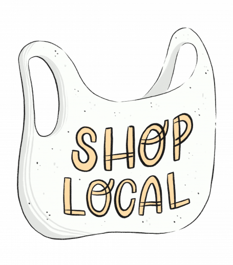 Shop Local - dark