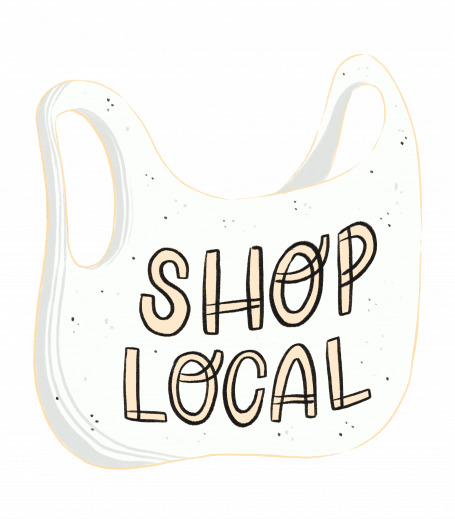 Shop Local - light