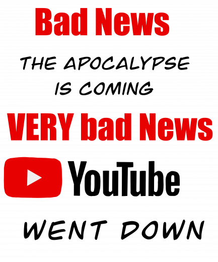 Youtube went down